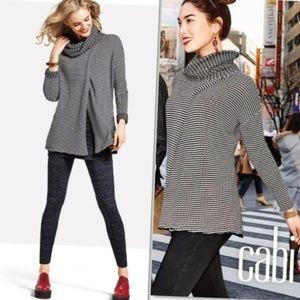 CAbi Fergie Overlapping Turtleneck Sweater #3167